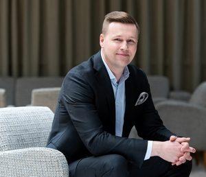 Tuomas Sorri, Senior Vice President von Valio Food Solutions, wird die neue Geschäftseinheit verantworten. (Foto: Valio)